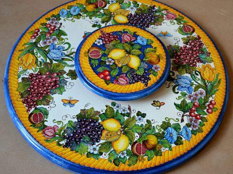 Tavoli rotondi in ceramica