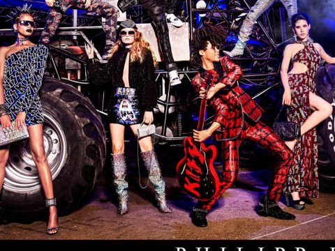 hilipp Plein - Monsters of Rock Spring Summer 2020 ADV campaign by Ellen Von Unwerth